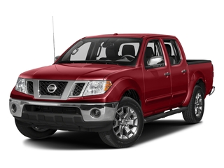 Lava Red 2018 Nissan Frontier Pictures Frontier Crew Cab SL 2WD photos front view