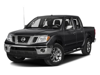 Magnetic Black 2018 Nissan Frontier Pictures Frontier Crew Cab SL 2WD photos front view