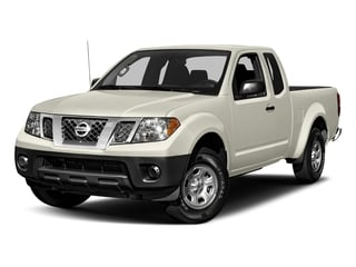 Glacier White 2018 Nissan Frontier Pictures Frontier King Cab S 2WD photos front view