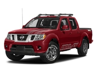 Lava Red 2018 Nissan Frontier Pictures Frontier Crew Cab 4x4 PRO-4X Manual photos front view