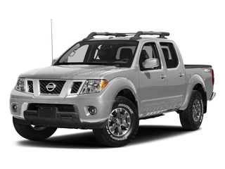 Brilliant Silver 2018 Nissan Frontier Pictures Frontier Crew Cab 4x4 PRO-4X Manual photos front view