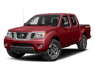 Lava Red 2018 Nissan Frontier Pictures Frontier Crew Cab Desert Runner 2WD photos front view