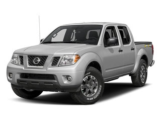 Brilliant Silver 2018 Nissan Frontier Pictures Frontier Crew Cab Desert Runner 2WD photos front view