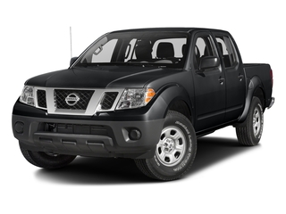 Magnetic Black 2018 Nissan Frontier Pictures Frontier Crew Cab S 2WD photos front view