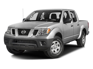 Brilliant Silver 2018 Nissan Frontier Pictures Frontier Crew Cab S 2WD photos front view