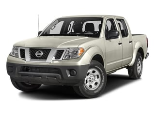 Glacier White 2018 Nissan Frontier Pictures Frontier Crew Cab S 2WD photos front view