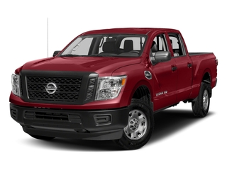Cayenne Red 2018 Nissan Titan XD Pictures Titan XD 4x2 Diesel Crew Cab S photos front view