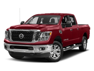 Cayenne Red 2018 Nissan Titan XD Pictures Titan XD Crew Cab SV 2WD photos front view