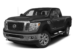 Gun Metallic 2018 Nissan Titan XD Pictures Titan XD 4x2 Gas King Cab S photos front view