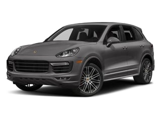 Meteor Grey Metallic 2018 Porsche Cayenne Pictures Cayenne Utility 4D GTS AWD V6 Turbo photos front view