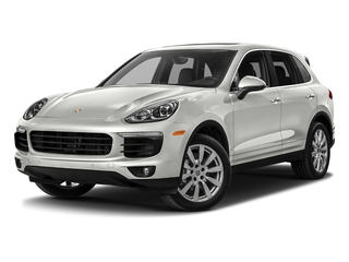 White 2018 Porsche Cayenne Pictures Cayenne Utility 4D S AWD V6 Turbo photos front view