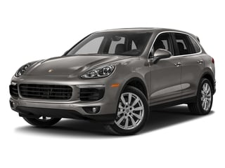 Meteor Grey Metallic 2018 Porsche Cayenne Pictures Cayenne Utility 4D S AWD V6 Turbo photos front view