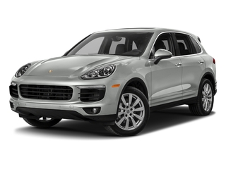 Rhodium Silver Metallic 2018 Porsche Cayenne Pictures Cayenne Utility 4D S AWD V6 Turbo photos front view