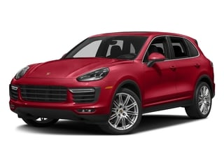 Carmine Red 2018 Porsche Cayenne Pictures Cayenne Turbo S AWD photos front view