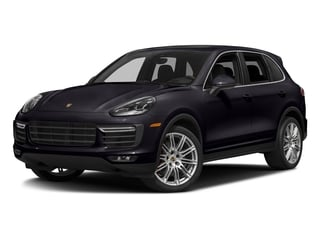 Purpurite Metallic 2018 Porsche Cayenne Pictures Cayenne Utility 4D AWD V8 Turbo photos front view