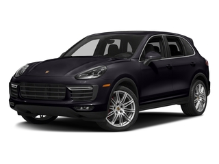Purpurite Metallic 2018 Porsche Cayenne Pictures Cayenne Turbo S AWD photos front view