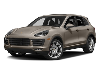 Palladium Metallic 2018 Porsche Cayenne Pictures Cayenne Utility 4D AWD V8 Turbo photos front view