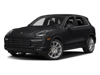 Black 2018 Porsche Cayenne Pictures Cayenne Turbo S AWD photos front view