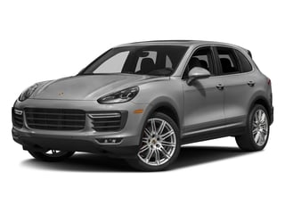 Rhodium Silver Metallic 2018 Porsche Cayenne Pictures Cayenne Utility 4D S AWD V8 Turbo photos front view