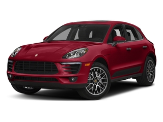 Carmine Red 2018 Porsche Macan Pictures Macan Turbo AWD w/Performance Pkg photos front view