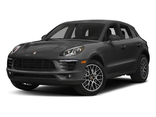 Volcano Grey Metallic 2018 Porsche Macan Pictures Macan Turbo AWD w/Performance Pkg photos front view