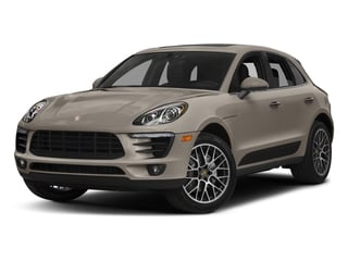 Palladium Metallic 2018 Porsche Macan Pictures Macan Turbo AWD w/Performance Pkg photos front view