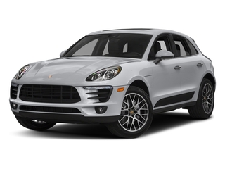 Rhodium Silver Metallic 2018 Porsche Macan Pictures Macan Turbo AWD w/Performance Pkg photos front view