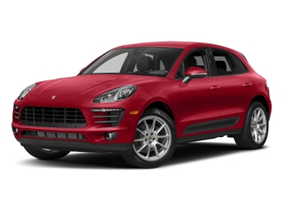Carmine Red 2018 Porsche Macan Pictures Macan AWD photos front view