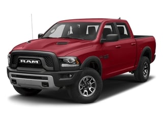 Flame Red Clearcoat 2018 Ram Truck 1500 Pictures 1500 Rebel 4x4 Crew Cab 5'7 Box photos front view