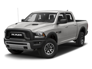 Bright Silver Metallic Clearcoat 2018 Ram Truck 1500 Pictures 1500 Rebel 4x4 Crew Cab 5'7 Box photos front view