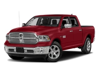 Flame Red Clearcoat 2018 Ram Truck 1500 Pictures 1500 Laramie 4x2 Crew Cab 5'7 Box photos front view