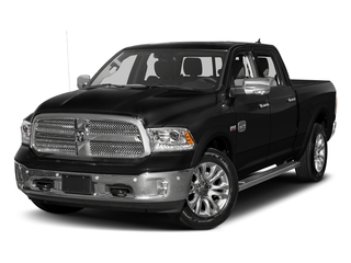 Brilliant Black Crystal Pearlcoat 2018 Ram Truck 1500 Pictures 1500 Longhorn 4x2 Crew Cab 6'4 Box *Ltd Avail* photos front view