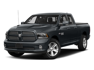 Maximum Steel Metallic Clearcoat 2018 Ram Truck 1500 Pictures 1500 Sport 4x4 Quad Cab 6'4 Box *Ltd Avail* photos front view