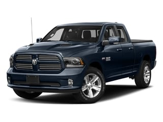True Blue Pearlcoat 2018 Ram Truck 1500 Pictures 1500 Night 4x2 Quad Cab 6'4 Box *Ltd Avail* photos front view