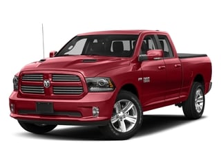 Flame Red Clearcoat 2018 Ram Truck 1500 Pictures 1500 Sport 4x4 Quad Cab 6'4 Box *Ltd Avail* photos front view