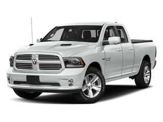 Bright White Clearcoat 2018 Ram Truck 1500 Pictures 1500 Sport 4x4 Quad Cab 6'4 Box *Ltd Avail* photos front view