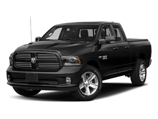 Brilliant Black Crystal Pearlcoat 2018 Ram Truck 1500 Pictures 1500 Night 4x2 Quad Cab 6'4 Box *Ltd Avail* photos front view