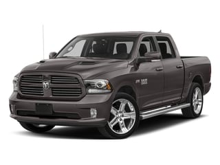 Granite Crystal Metallic Clearcoat 2018 Ram Truck 1500 Pictures 1500 Night 4x4 Crew Cab 6'4 Box *Ltd Avail* photos front view