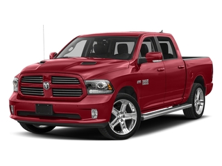 Flame Red Clearcoat 2018 Ram Truck 1500 Pictures 1500 Night 4x4 Crew Cab 6'4 Box *Ltd Avail* photos front view