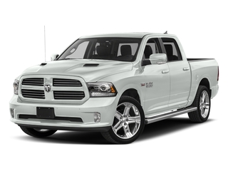 Bright White Clearcoat 2018 Ram Truck 1500 Pictures 1500 Night 4x4 Crew Cab 6'4 Box *Ltd Avail* photos front view