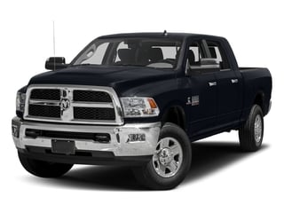 Midnight Blue Pearlcoat 2018 Ram Truck 3500 Pictures 3500 Mega Cab SLT 4WD photos front view