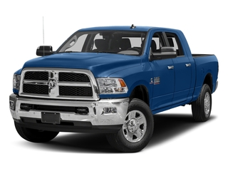 Blue Streak Pearlcoat 2018 Ram Truck 3500 Pictures 3500 Big Horn 4x4 Mega Cab 6'4 Box photos front view