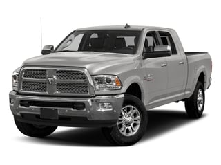 Bright Silver Metallic Clearcoat 2018 Ram Truck 3500 Pictures 3500 Limited 4x4 Mega Cab 6'4 Box photos front view