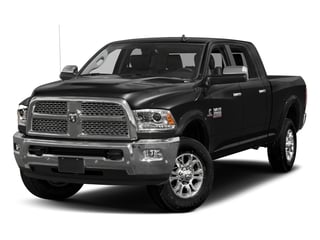 Brilliant Black Crystal Pearlcoat 2018 Ram Truck 3500 Pictures 3500 Limited 4x4 Mega Cab 6'4 Box photos front view