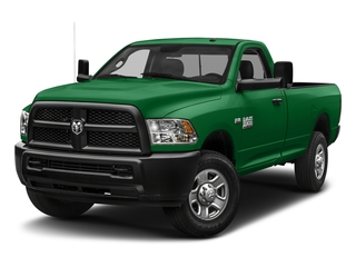 Bright Green 2018 Ram Truck 3500 Pictures 3500 Tradesman 4x2 Reg Cab 8' Box photos front view