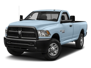Robin Egg Blue 2018 Ram Truck 3500 Pictures 3500 Tradesman 4x2 Reg Cab 8' Box photos front view