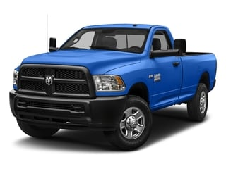 New Holland Blue 2018 Ram Truck 3500 Pictures 3500 Tradesman 4x2 Reg Cab 8' Box photos front view
