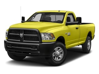 National Safety Yellow 2018 Ram Truck 3500 Pictures 3500 Tradesman 4x2 Reg Cab 8' Box photos front view