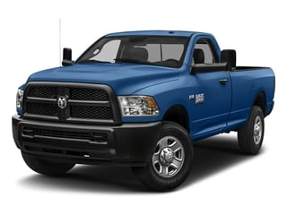 Blue Streak Pearlcoat 2018 Ram Truck 3500 Pictures 3500 Tradesman 4x2 Reg Cab 8' Box photos front view