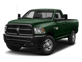 Timberline Green Pearlcoat 2018 Ram Truck 3500 Pictures 3500 Tradesman 4x2 Reg Cab 8' Box photos front view